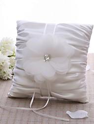 Weiß 1 Blütenblätter Satin