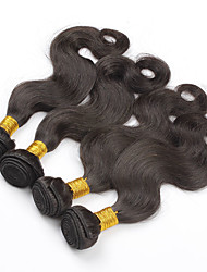 "3Pcs Lot 8""-28"" Indian Body Wave Virgin Hair Weave Bundles Natural Color uman Hair Extensions Tangle Free"