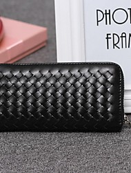 Women PU Bi-fold Wallet-Multi-color