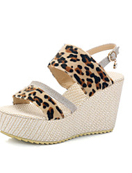 Ms. summer new fashion women shoes hemp rope sandals slope with sandals muffin platform heels Female