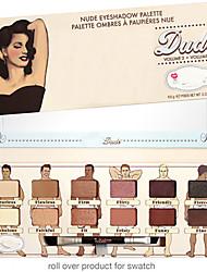 12 Palette di ombretti Secco Gamma di colori dell'ombretto Cipria Normale Trucco smokey / Trucco giornaliero