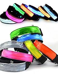 New fashion nylon webbing LED dog collar New Material super bright light guide flat fiber pet collars