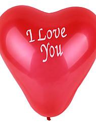 100pcs casamento balão decoração / set