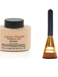Luxuary Powder + Flat Contour Makeup Brush
