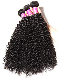 6A Brazilian Virgin Hair Kinky Curly Virgin Human Hair Unprocessed Virgin Human Hair Curly waves free shipping hot sales