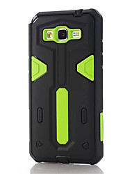 For Samsung Galaxy Case Shockproof Case Back Cover Case Armor PC Samsung Grand Prime