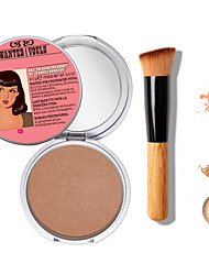 1pcs nieuwe make-up tb mary-lou manizer bronzer&highlighter cosmetica + 1 stuks van hoge kwaliteit poeder borstel
