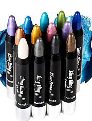 By Nanda® 12 Color Shimmer Eyeshadow Stick