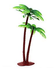 areia paisagem enfeites de resina tabela modelo de simulação palma planta micro e mais carne mini-jardinagem palma 13cm 10pcs