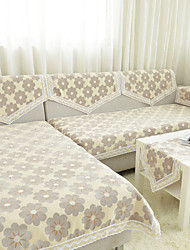 jacquard tecido espessamento tampa do sofá chenille de alta qualidade anti-derrapante almofada do sofá