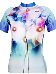 Fulang  Cycling Jerseys   breathe freely  wear resiting   Ultraviolet Resistant  Dream petals SC123