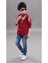 Boy's Cotton Shirt,Spring / Fall Print