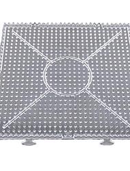 1pcs modello chiaro generale grande pegboard linkabile 15 * 15cm quadrato per 5 millimetri perline hama beads Perler fondono perline
