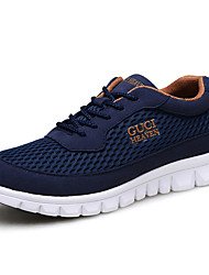 Men's Shoes Outdoor / Athletic / Casual Synthetic Fashion Sneakers Blue / Gray / Navy