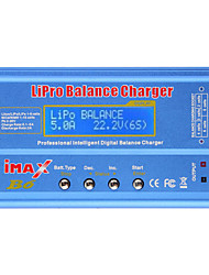 imax b6 lipo nimh li-ion Ni-Cd bateria equilíbrio rc digitais carregador descarregador