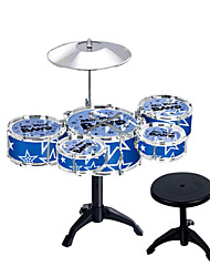 Red/Blue/Ourple Simulation Child Jazz Drums for Children Below 3 Musical Instruments Toy