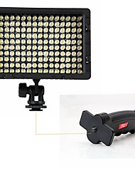 POPLAR® Photography CN-160 LED Light with Flash Light Grip for Camera