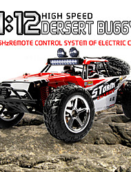 Buggy SUBOTECH BG1513 1:12 Brush Electric RC Car 35KM/H 2.4G Green / Red Ready-To-GoRemote Control Car / Remote Controller/Transmitter /