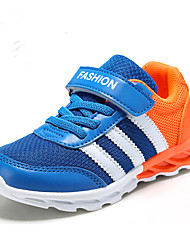 Boys' and Girl Shoes Casual Tulle Fashion Sneakers Black / Blue / Red