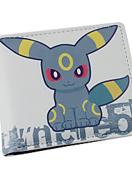 Bag / Wallets Inspired by Pocket Monster Cosplay Anime Cosplay Accessories Wallet Gray PU Leather Male / Female