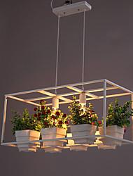 40W Traditionnel/Classique Style mini Peintures Métal Lampe suspendueSalle de séjour / Chambre à coucher / Salle à manger / Bureau/Bureau
