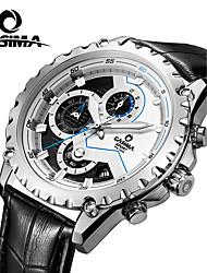 Relógio de Pulso-Homens-Quartzo-Aço