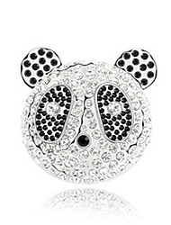 High Quality Crystal Panda Brooch for Wedding Party Lady