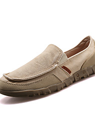 Men's Light weight Slip-on Denim Flats/Loafers for Casual Style Male Office Shoes for Walking