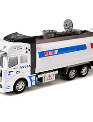 Brinquedo do carro inércia caminhão de lixo 01:42 liga de logging carro modelo de carro de brinquedo para crianças (3pcs)