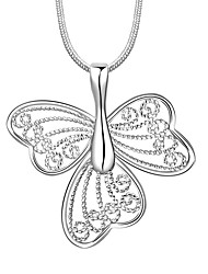 Daniel Wellington 925 sterling silver Hollow butterfly multi medal pendant cremation jewelry