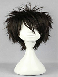 Cospaly Wig  30CM 6 Colors Male Short Layered Hairstyles Kagerou Project Kano Shuuya Natural Hair Wigs Costume Wig