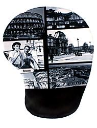 mousepad massagem silicone vintage - roman