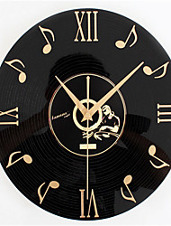 CD Music Record Wall Clock