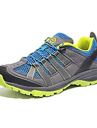 Men's Hiking Shoes Suede / Tulle Blue / Gray