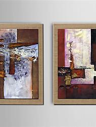 Ручная роспись фантазия Modern,2 панели Hang-роспись маслом