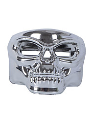 Plastic Skull Can Drink Cup Can Bottle Holder Black for Car Auto