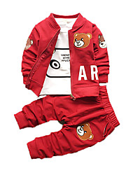 New Spring And Autumn Children Clothes,Boy Suit, Cotton, Boys Gentle Clothes's Wear Three-piece Suit
