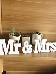 PVC MR &  MRS letter Wedding Decorations-3Piece/Set Unique Wedding Décor / Ornaments Engagement