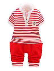 novas crianças Verão roupas, menino terno, terno crianças de algodão, bebés roupas delicadas
