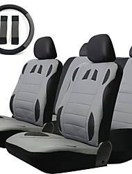 Universal 13 Pcs Car Seat Covers Set Sponge PU Car Styling Interior Auto Accessories Automotive Car Covers for Car Care