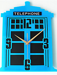 Stereo Phone Wall Clock