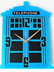 Moderne/Contemporain Autres Horloge murale,Autres Acrylique 35*30*5 Horloge