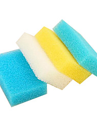 10pcs Random Color Cleaning Sponge Cloth
