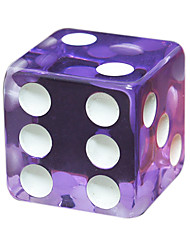 Royal Holy Magic Large Screen Dice Game Appeal Board Game 18 Mm Square Acrylic Resin Transparent Dice Dice 50 Grain