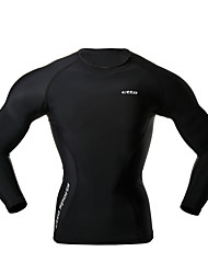 Men's Running Compression Clothing T-shirt Tops Compression Spring Summer Sports Wear Running Tight