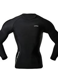 Бег Сжатие костюм / Нижняя часть Муж. Сжатие видеоизображений Бег Спорт Спортивная одежда Облегающие