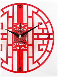 Moderno/Contemporaneo Altro Orologio da parete,Altro Acrilico 30*30*5 Orologio