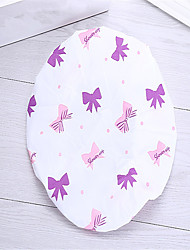 PVC High Quality Beautiful Printed  Shower Caps For Woman