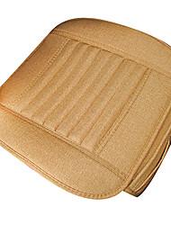 Flax Car Seat Cushion 1PCS Yellow