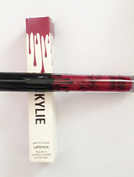 Gloss Humide / Mat Liquide Gloss coloré / Longue Durée / Naturel Marron / Rouge 1 other